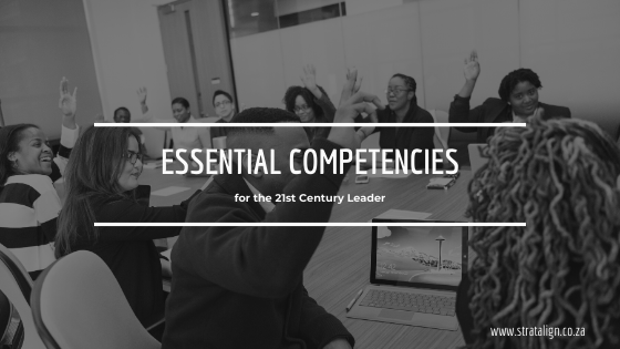 Stratalign South Africa Webinar on Essential Competencies for the 21st Century Leader.