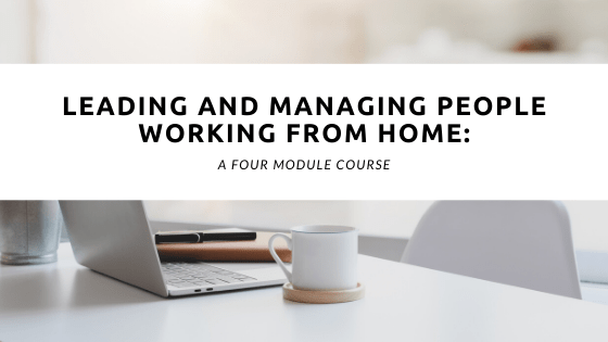 LEADING AND MANAGING PEOPLE WORKING FROM HOME webinar by Stratalign