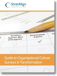 Organisational Culture Surveys and Transformation