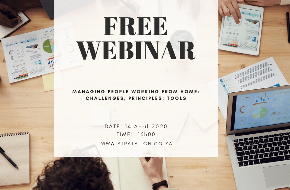 Managing People working from Home